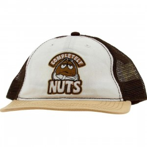 M&Ms Completely Nuts Snapback Cap (brown)