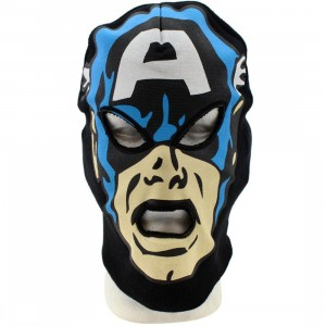 Marvel Captain America Ski Mask Beanie (black)