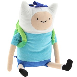 Adventure Time Finn Plush Backpack (blue)