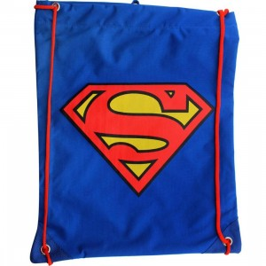 DC Comics Superman Cinch Bag (blue)