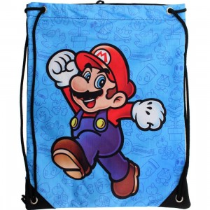 Super Mario Cinch Bag (blue)