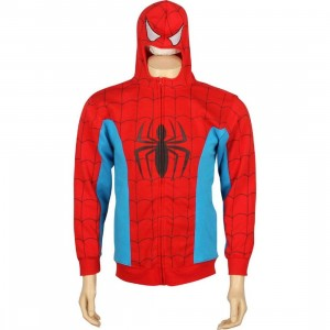 Marvel Spiderman Costume Hoody (red)