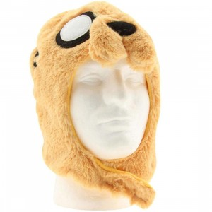 Adventure Time Jake Mascot Knit Beanie (yellow)