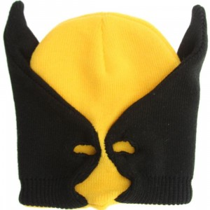 Marvel Wolverine Half Mask (yellow)