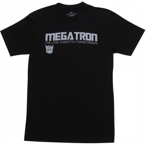 The Loyal Subjects x Transformers Megatron Logo Tee (black)