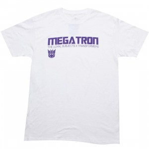 The Loyal Subjects x Transformers Megatron Logo Tee (white)