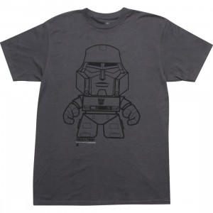 The Loyal Subjects x Transformers Megatron Tee (charcoal)