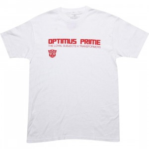 The Loyal Subjects x Transformers Optimus Prime Logo Tee (white)