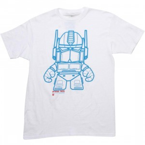 The Loyal Subjects x Transformers Optimus Prime Tee (white)