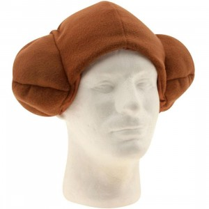 Star Wars Princess Leia Fleece Cap (brown)