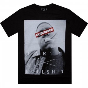 Biggie Censored Party Tee (black)