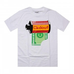 Caked Out Paparazzi Tee (white)