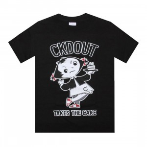 Caked Out Takes The Cake Tee (black)