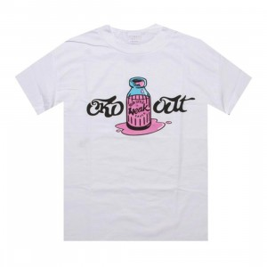 Caked Out Weaksauce Tee (white)