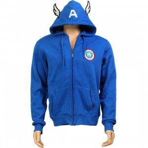 Tokidoki x Marvel American Wings Zip Up Hoody (blue)