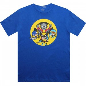 Tokidoki x Marvel X Men Attack Tee (blue)