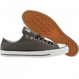 Converse Men Chuck Taylor All Star Pro Ox (gray / white / black)