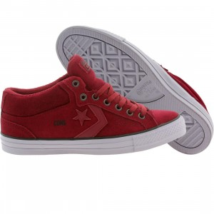 Converse Men Star Player Pro Mid (burgundy / oxheart / gravel)