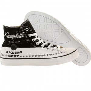 Converse x Andy Warhol Men Chuck Taylor All Star High (black / white / mason)