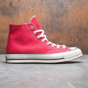 Converse Men Chuck 70 Vintage Canvas Hi (red / enamel red/ egret / black)
