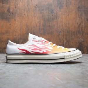 Converse Men Chuck 70 Archive Prints Remixed Ox (white / enamel red / bold mandarin)