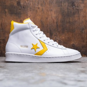Converse Men OG Pro Leather Mid (white / amarillo)