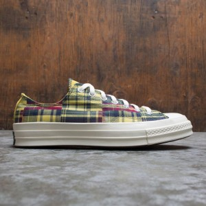 Converse Men Twisted Prep Chuck 70 Ox (yellow / amarillo / faded spruce / rose maroon)