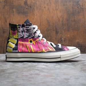 Converse x Batman Men Chuck 70 Hi (black / hot pink / egret)