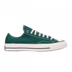 Converse Men Colors Vintage Canvas Chuck 70 Low Ox (green / midnight clover / egret / black)