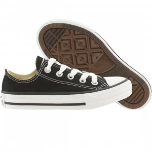 Converse Little Kids Chuck Taylor All Star Low Ox (black)