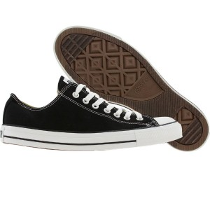 Converse Men Chuck Taylor All Star Low Ox (black / white)
