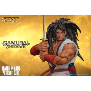 PREORDER - Storm Collectibles Samurai Shodown Haohmaru 1/12 Action Figure (white)