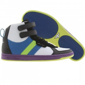 Creative Recreation Dicoco (black / blue / lime / dewberry)