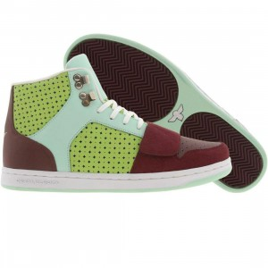 Creative Recreation Cesario (maroon / lime / tiffany)