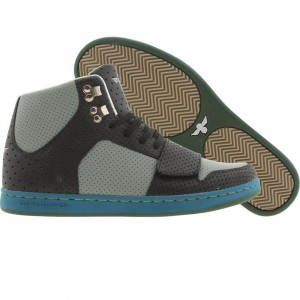 Creative Recreation Cesario (black / grey / multi perfs)
