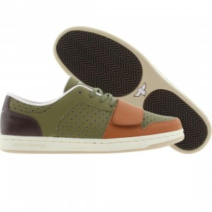 Creative Recreation Cesario Low (olive / rust / oil brown)