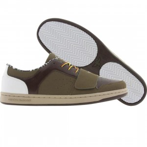 Creative Recreation Cesario Low (military green / brown / khaki)