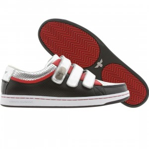 Creative Recreation Torrio (silver / black / red)