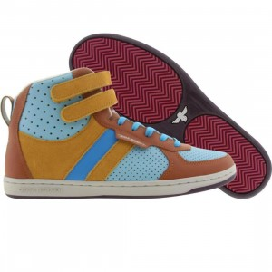 Creative Recreation Womens Dicoco (rust / wheat / blues)