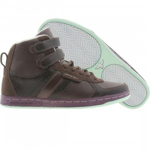 Creative Recreation Womens Dicoco (brown / grape / mint)