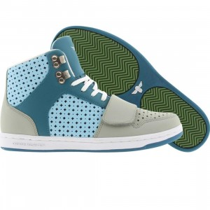 Creative Recreation Womens Cesario (cement / teal / sky)