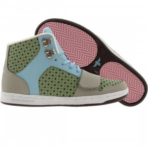 Creative Recreation Womens Cesario (khaki / skylight / fern)