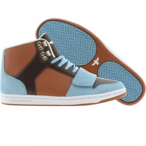 Creative Recreation Womens Cesario (sky / brown / rust)