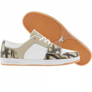 Creative Recreation Womens Cesario Low (khaki / white / safari)