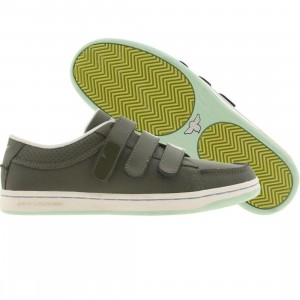 Creative Recreation Womens Torrio Velcro(military)