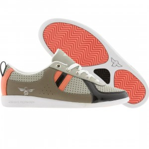 Creative Recreation Womens Galow (cement / ash / salmon / black patent)