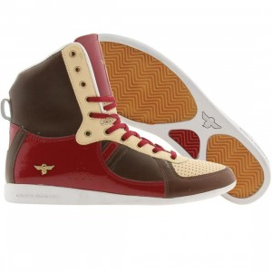 Creative Recreation Womens Galow High (brown / burgundy / neutral)