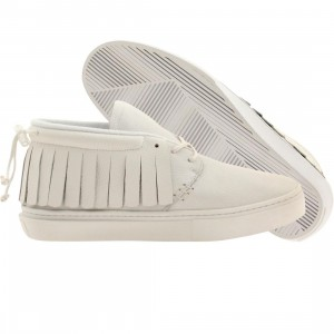 Clear Weather Men The One-O-One Mid Top (white / tumbled calfskin)