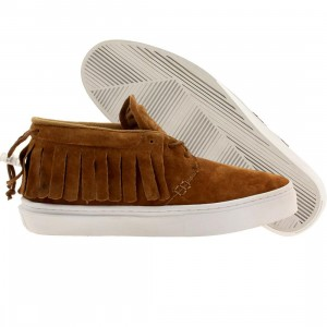 Clear Weather Men The One-O-One Mid Top (brown / honey suede)