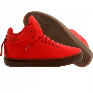 Clear Weather Men The One-Ten Mid Top (red)